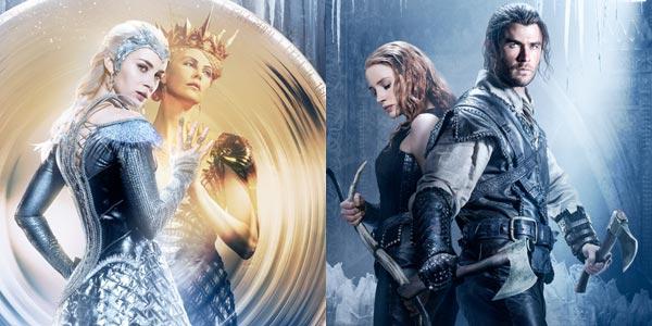 il cacciatore e la regina di ghiaccio film