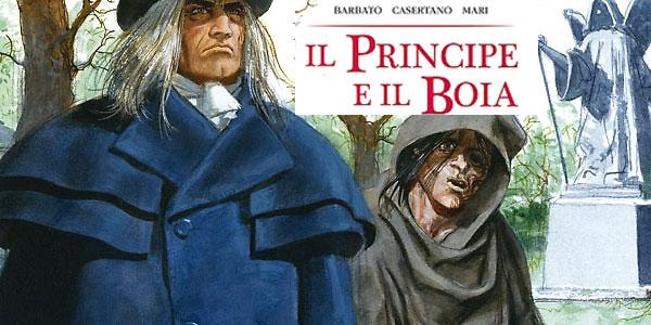 Bonelli pubblica il Principe e il Boia di Paola Barbato
