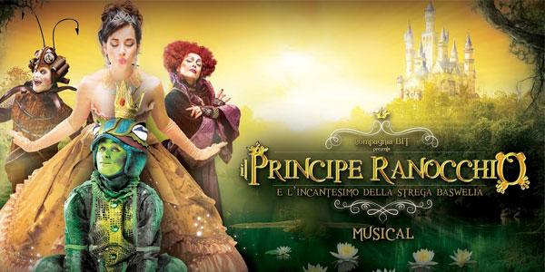 il principe ranocchio musical