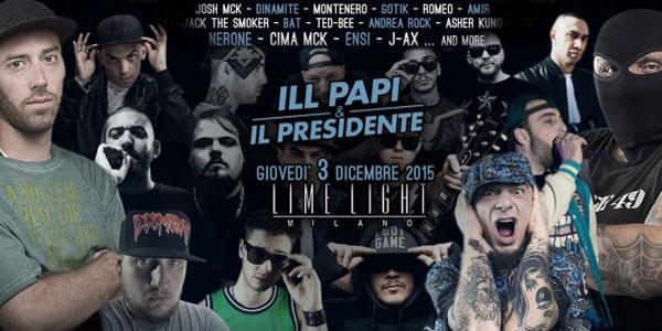 ill papi e il president locandina concerto 2015