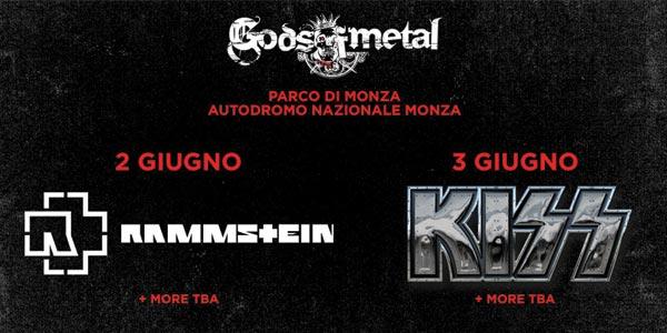 kiss rammstein gods of metal 2016