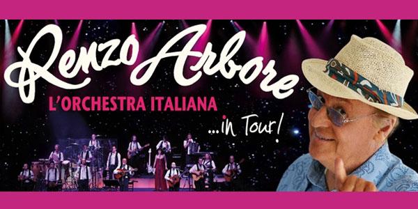 Renzo Arbore e L'Orchestra Italiana nuovo tour – Biglietti