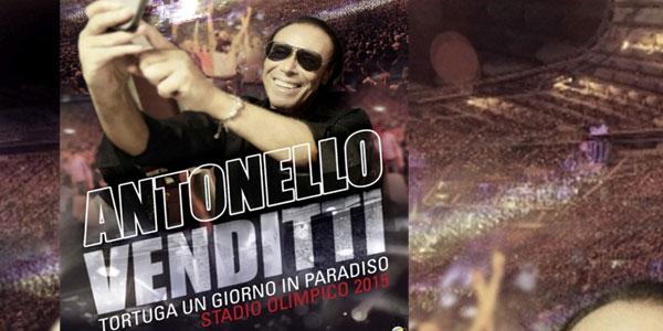 Antonello Venditti: in arrivo il cofanetto live all'Olimpico