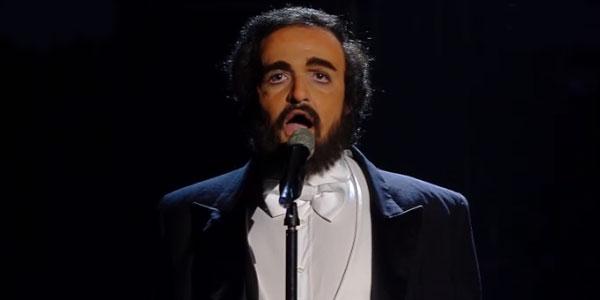 valerio scanu imita pavarotti