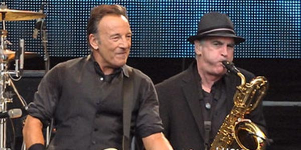 Eddie Manion e Bruce Springsteen