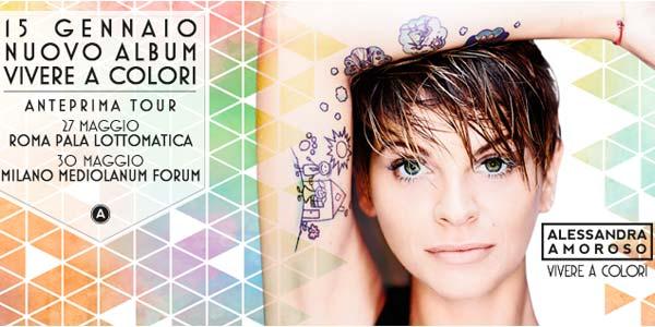 Alessandra Amoroso: nuovo album e prime date tour 2016 – biglietti