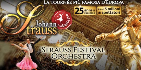 Strauss Festival Orchestra: concerto a Milano con Ballet Ensemble