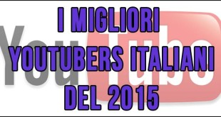 youtubers italiani 2015