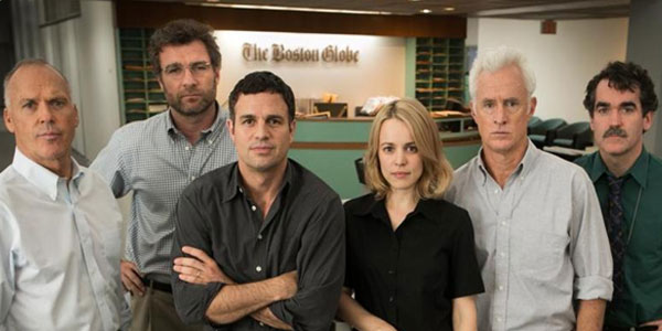 Spotlight film gruppo giornalisti