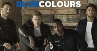 blue album colours