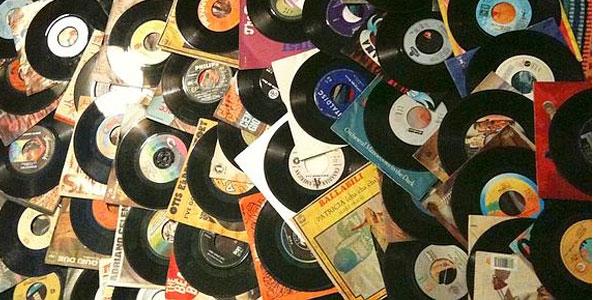 immagini di dischi in vinile