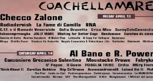 locandina Coachellamare - cellamare music festival2016