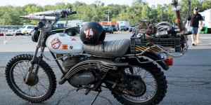 Ghostbusters la moto del film