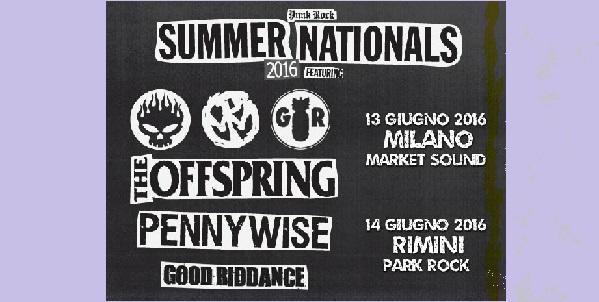 Punk Rock Summer Nationals Tour
