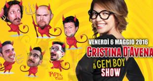 cristina d'avena show 2016