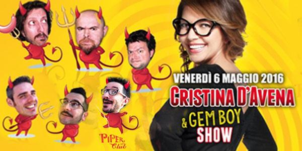 Cristina D'Avena con i Gem Boy in concerto a Milano e Roma – biglietti