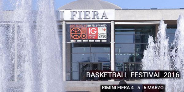 Rimini Basket Festival 2016: la 2° edizione il 4-5-6 marzo 2016