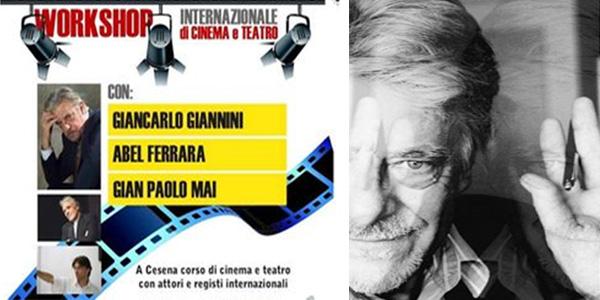 Cesena: corso di cinema e teatro con Giancarlo Giannini