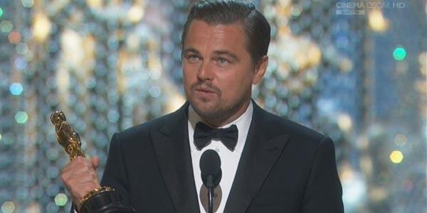 Leonardo DiCaprio vince oscar 2016
