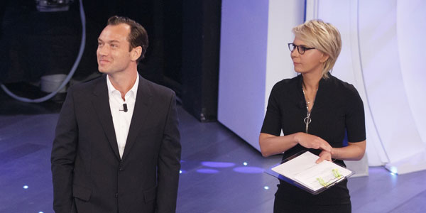 maria de filippi e jude law
