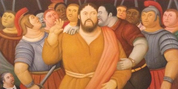 Botero: in mostra a Roma La Via Crucis dell'artista colombiano