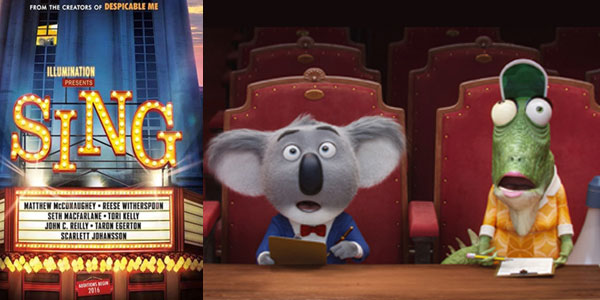 Sing: il trailer italiano e le prime foto del film d'animazione