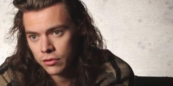 Harry Styles video intervista
