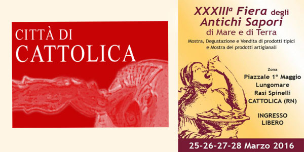 Cattolica: a Pasqua 2016 la Fiera degli Antichi Sapori di Mare e di Terra