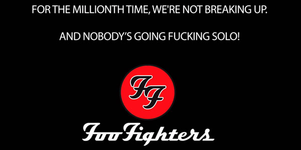foo fighters scioglimento