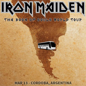 iron maiden tour in argentina