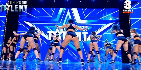 Italia's Got Talent: si trema con i movimenti di fianchi del Twerkout Team