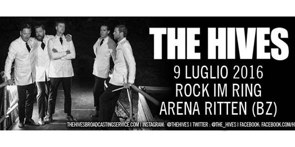 I The Hives in concerto al Rock Im Ring Festival di Collalbo a luglio 2016 – biglietti