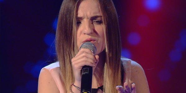 the voice 4 Cristina Cascone