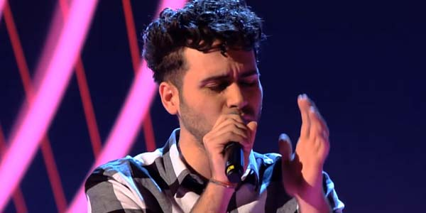 "The Voice 4: Domenico ""Derek"" Caringella è nel Team Dolcenera (video)"