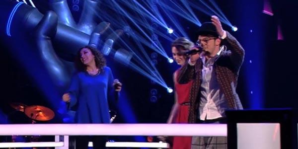 The Voice 4: Giuseppe Citarelli e Cristina Di Piero, una Battle con Steal (video)