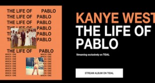 Kanye West album the life of pablo