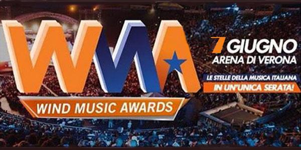 Wind Music Awards all'Arena di Verona il 7 giugno 2016 – biglietti