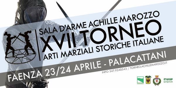 Faenza ospita il XVII Torneo Arti Marziali Storiche Italiane il 23 e 24 aprile