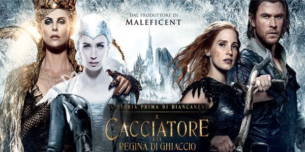 Il Cacciatore e la Regina di Ghiaccio: tornano al cinema Chris Hemsworth e Charlize Theron