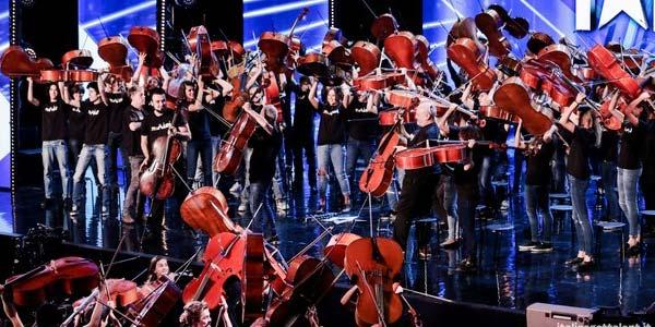 italia's got talent 100 cellos