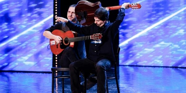 italia's got talent Guitar Sketch