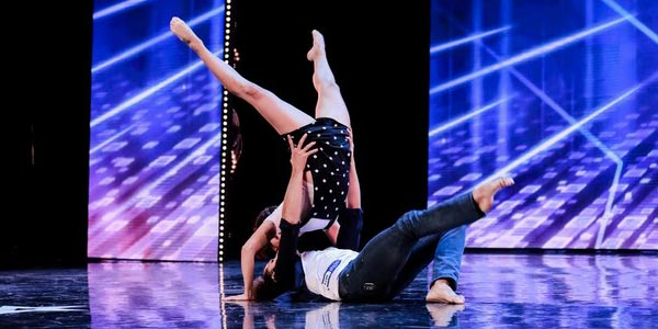 italia's got talent ballerini al bacio