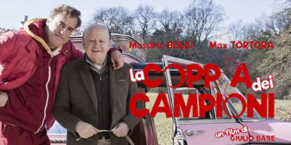La Coppia Dei Campioni: al cinema la nuova commedia con Massimo Boldi e Max Tortora