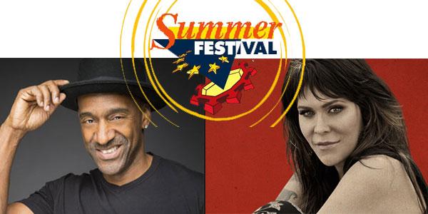 lucca summer festival 2016 con Marcus Miller e Beth Hart