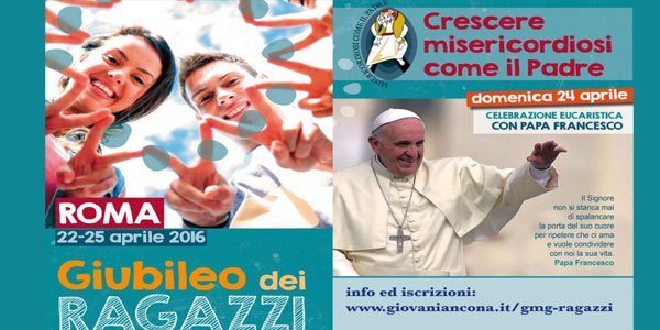 papa francesco e il giubileo dei ragazzi