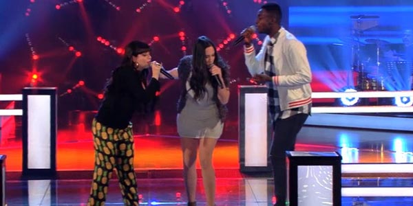 The voice 4: Charles Kablan vince la Battle e passa il turno (video)