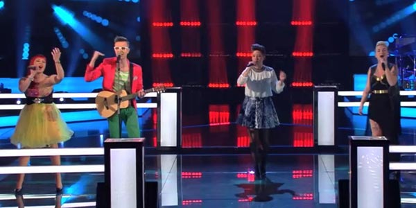 the voice 4 battle alessia iwolf erika