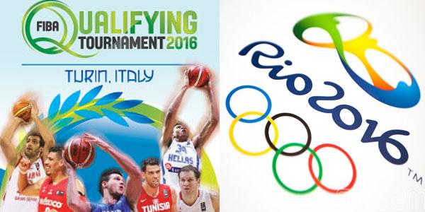 torneo qualificazioni basket olimpiadi 2016 a torino