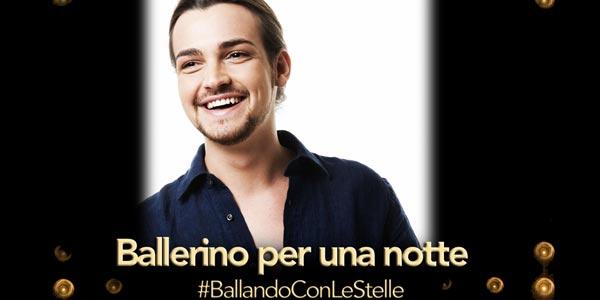 Valerio Scanu ballerino per una notte a Ballando Con Le Stelle