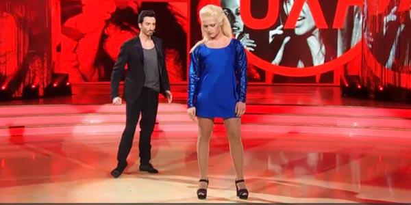 Valerio Scanu balla un tango a Ballando Con Le Stelle (video)